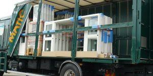 Cargomatic livraison menuiseries