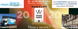 Provence Distribution Logistique au salon Wine Paris 2020